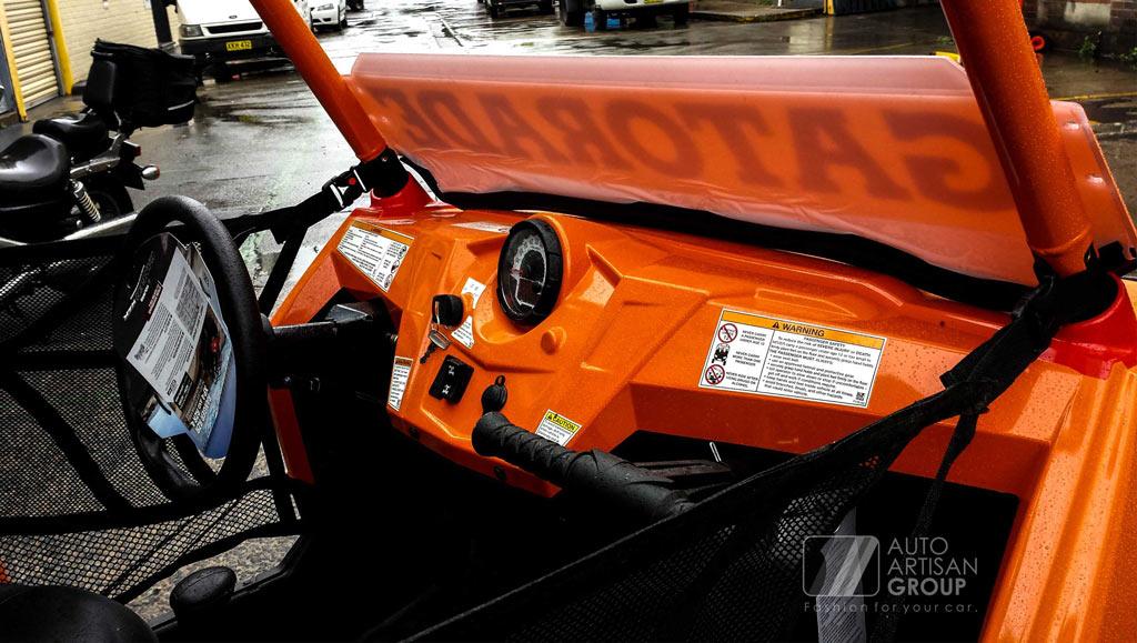 ATV Polaris Dash Wrap