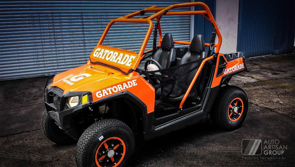ATV Polaris Wrap