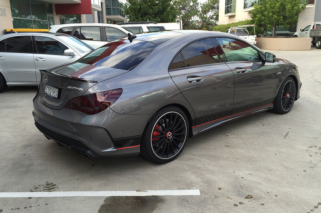Mercedes AMG C63 Stripe Kit