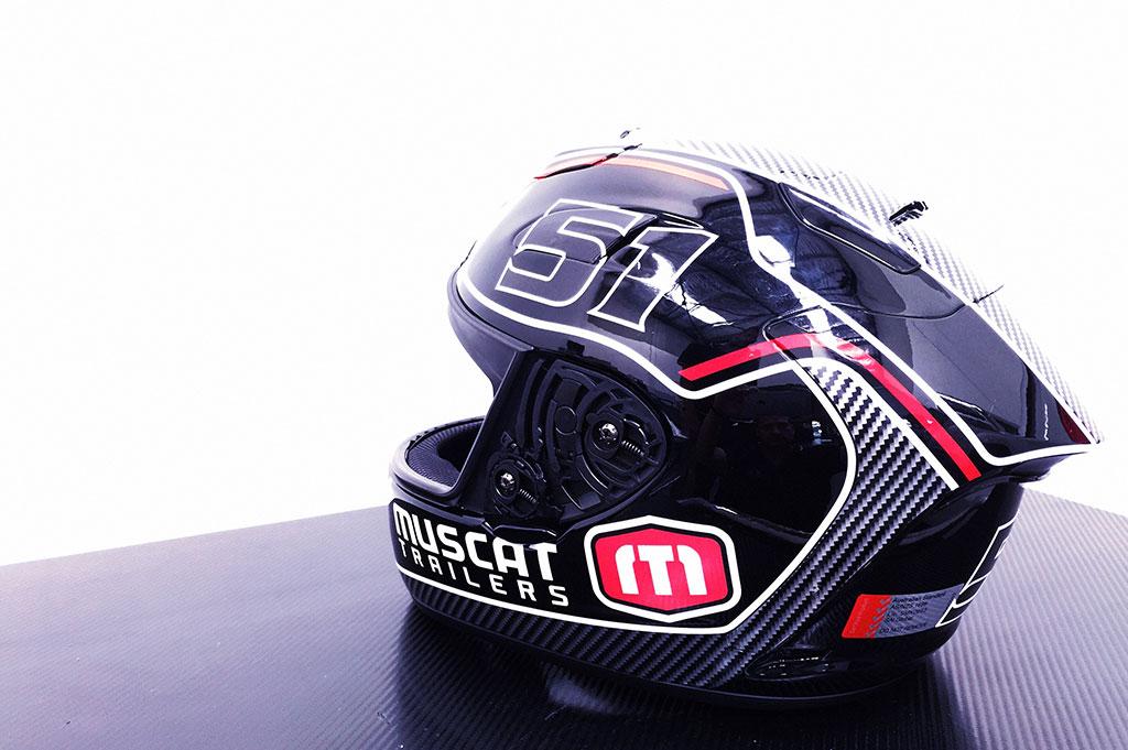 Muscat Trailers Helmet Design