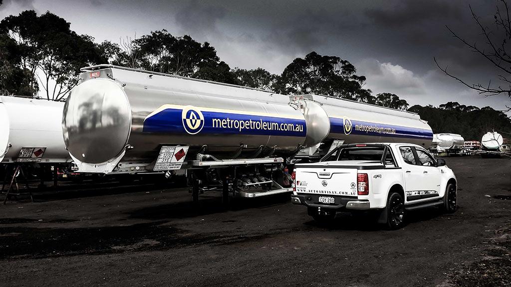 Metro Petroleum Tanker