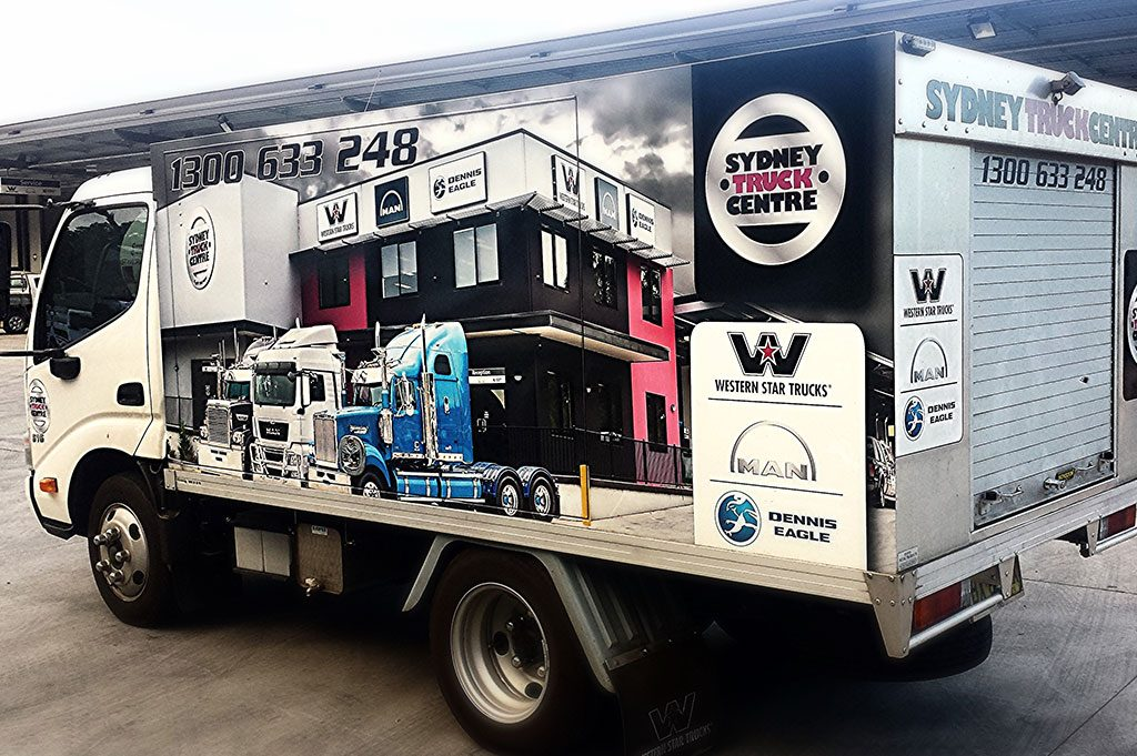 Sydney Truck Centre Service Truck Wrap