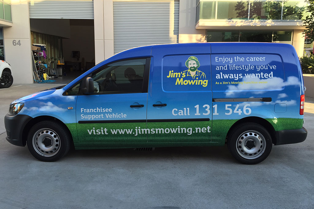 Franchised Vehicle Vinyl Wrapping