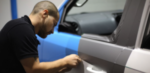 Applying Vehicle Wrapping Protection
